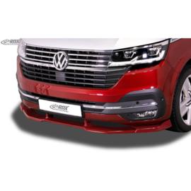 Voorspoiler Vario-X passend voor Volkswagen Transporter T6 Facelift (T6.1) 2019- (gespoten & ongespoten bumper) (PU)