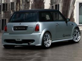 "Rear Bumper Mini Cooper ""FLETCHER"" iBherdesign"