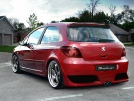 "Rear Bumper Peugeot 307 ""SHUMAN"" iBherdesign"