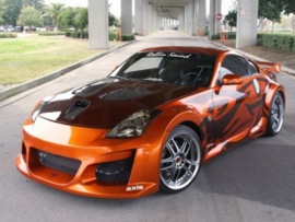 "Body Kit Nissan 350Z ""VENOM WIDE"" iBherdesign"