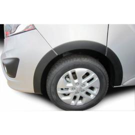 RGM Set spatbordverbreders passend voor Opel Vivaro 2014- (Korte wielbasis) - Zwart