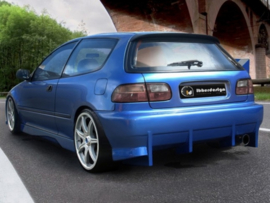 "Rear Bumper Honda Civic HB ""KOMODO"" iBherdesign"