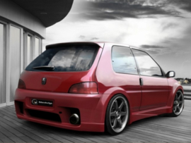 "Rear Wheel Arches Peugeot 106 ""WIZARD WIDE"" iBherdesign"