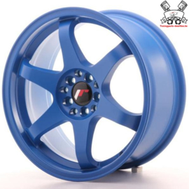 JR-Wheels JR3 Blue 17 Inch 8J ET35 4x100/114.3