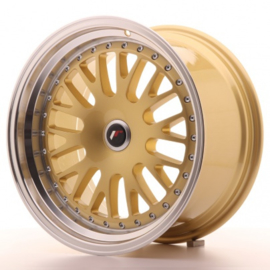 JR-Wheels JR10 Wheels Gold 17 Inch 9J ET25-30 Blank