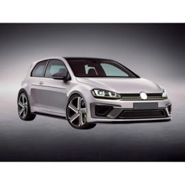 Complete ombouwset passend voor Volkswagen Golf VII 3/5-deurs 2012-2017 'R400-Look' incl. Grills (PP)