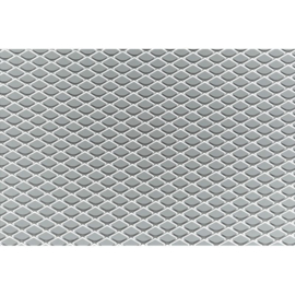 Simoni Racing Aluminium racegaas - 100x30cm - ruit 5x9mm
