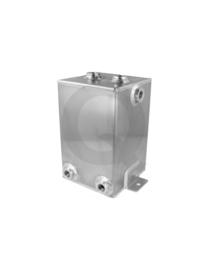 Aluminium benzine catchtank 3 Liter
