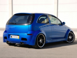 "Rear Wheel Arches Opel Corsa C ""HYPNOCIS WIDE"" iBherdesign"