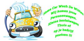 Home Car Wash De Witten verzorgt de reiniging van Personenwagens & kleine bestelwagens!
