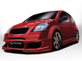 "Body Kit Citroen C2 ""APACHE"" iBherdesign"