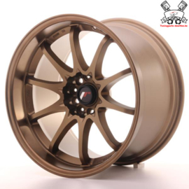 JR-Wheels JR5 Dark Anodize Bronze 18 Inch 10.5J ET12 5x114.3