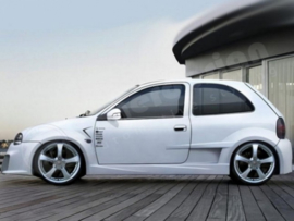 "Side Skirts Opel Corsa B ""OPTIMA WIDE"" iBherdesign"