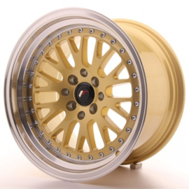 JR-Wheels JR10 Wheels Gold 16 Inch 9J ET10 4x100/114.3