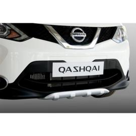 Voor- & Achterbumper Skid Plate passend voor Nissan Qashqai 2014- (ABS Zilver)