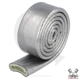 Hittebestendige hoes grijs/zilver (Keuze uit diverse diameters)