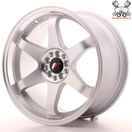 JR-Wheels JR3 Flat Silver Machined 18 Inch 9J ET40 5x100/108