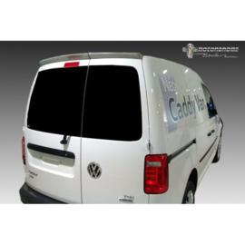 Dakspoiler passend voor Volkswagen Caddy 2015- (met 2 achterdeuren) (PU)