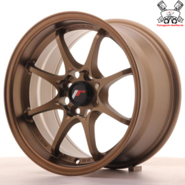 JR-Wheels JR5 Wheels Dark Anodize Bronze 15 Inch 8J ET28 4x100