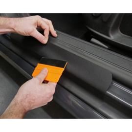 Foliatec LACK lakbescherming zwart 12x45cm - 2 stuks