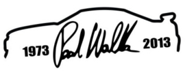 Paul Walker Skyline + Handtekening