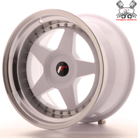 JR-Wheels JR6 White 17 Inch 10J ET20 Blank