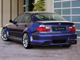 "Rear Wheel Arches BMW E46 ""COSMIC WIDE"" iBherdesign"