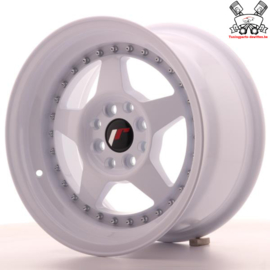 JR-Wheels JR6 White 15 Inch 8J ET25 4x100/108