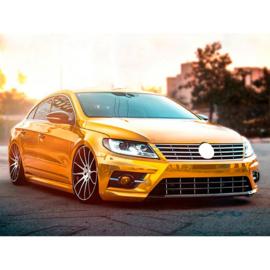 AutoStyle Complete ombouwset passend voor Volkswagen Passat CC 2013- 'R-Look' incl. Grills & Mistlampen (PP)