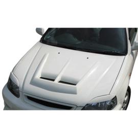 Chargespeed Motorkap passend voor Honda Civic EK 2/3/4-deurs 1996-2001 + Luchtinlaten (FRP)