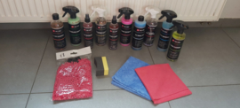P1 Car Care Complete Kit (Met Clay Glove)