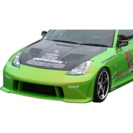 Chargespeed Motorkap passend voor Nissan 350Z Z33 + Luchtinlaten (FRP)