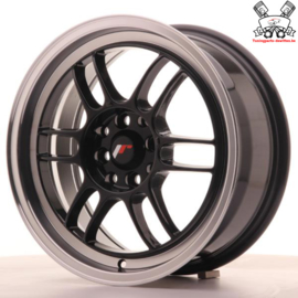 JR-Wheels JR7 Black 16 Inch 7J ET40 4x100/114.3