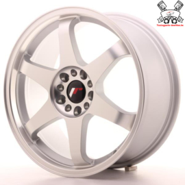 JR-Wheels JR3 Flat Silver Machined 18 Inch 8J ET40 5x112/114.3