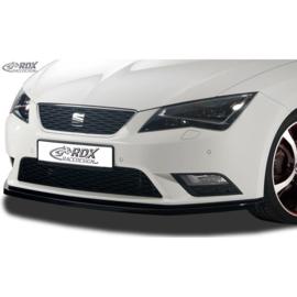 Voorspoiler passend voor Seat Leon 5F SC/5-deurs/ST 2013-2017 excl. FR/Cupra (ABS zwart glanzend)