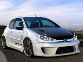 "Front Wheel Arches Peugeot 206 ""X_ODOS WIDE"" iBherdesign"