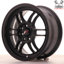 JR-Wheels JR7 Flat Black 15 Inch 7J ET38 4x100/114.3