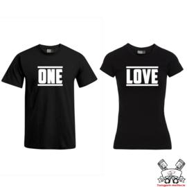 T-shirt One Love