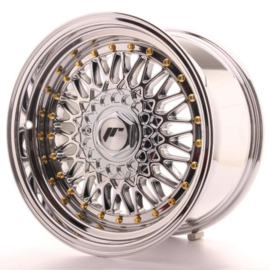 JR-Wheels JR9 Wheels Chrome 16 Inch 7.5J ET25 4x108 4x100