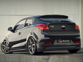 "Rear Bumper Spoiler Kia Pro Cee'd Coupe ""VERSSUS"" iBherdesign"