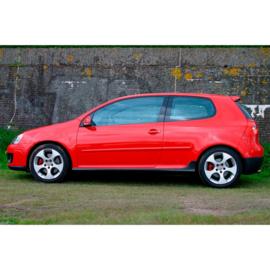 AutoStyle Sideskirts set passend voor Volkswagen Golf V 2003-2008 & Jetta 2005-2010 'GTi-Look' (PP)