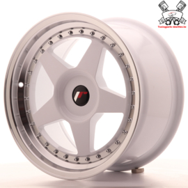 JR-Wheels JR6 White 17 Inch 9J ET20-35 Blank