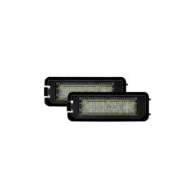 Set pasklare LED nummerplaat verlichting - passend voor Volkswagen / Skoda / Seat / Porsche / Bentley diversen