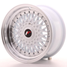 JR-Wheels JR9 Wheels White 15 Inch 8J ET20 4x100/108