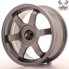 JR-Wheels JR3 Gun Metal 15 Inch 7J ET35 Blank