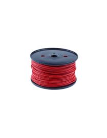 QSP kabel pvc 1,5 mm² haspel 100m (diverse kleuren)