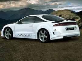 "Rear Wheel Arches Mitsubishi Eclipse ""REBEL WIDE"" iBherdesign"