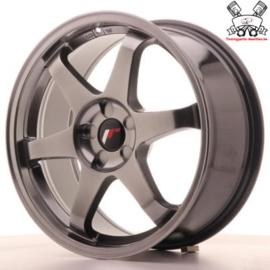 JR-Wheels JR3 Dark Hyper Black 17 Inch 8J ET35 5H Blank