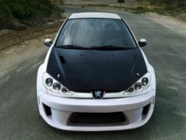 "Front Bumper Peugeot 206 ""X_ODOS WIDE"" iBherdesign"