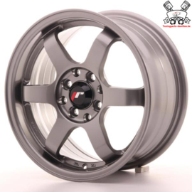 JR-Wheels JR3 Gun Metal 15 Inch 7J ET40 4x100/114.3